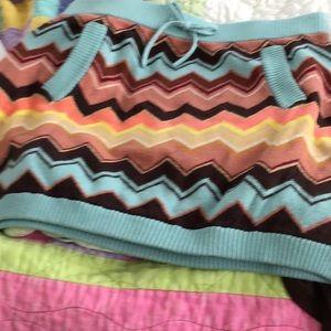 Missoni skirt & dress, L, M